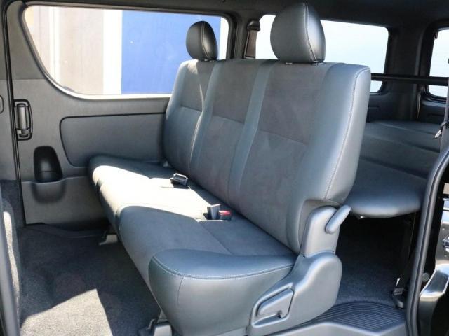 スーパーGL ダークプライムII 未登録新車6型ハイエースバン2WD スーパーGLダークプライム2特別仕様車 カスタムパッケージ ブラック黒 レジャーキャンプアウトドア車中泊ベッドキット 積載 SDフルセグナビ パノラミックビュー(12枚目)