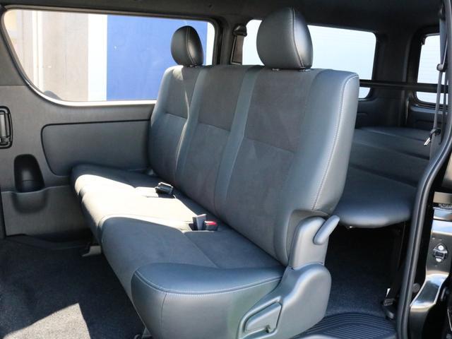 スーパーGL ダークプライムII 未登録新車6型ハイエースバン2WD スーパーGLダークプライム2特別仕様車 カスタムパッケージ ブラック黒 レジャーキャンプアウトドア車中泊ベッドキット 積載 SDフルセグナビ パノラミックビュー(54枚目)
