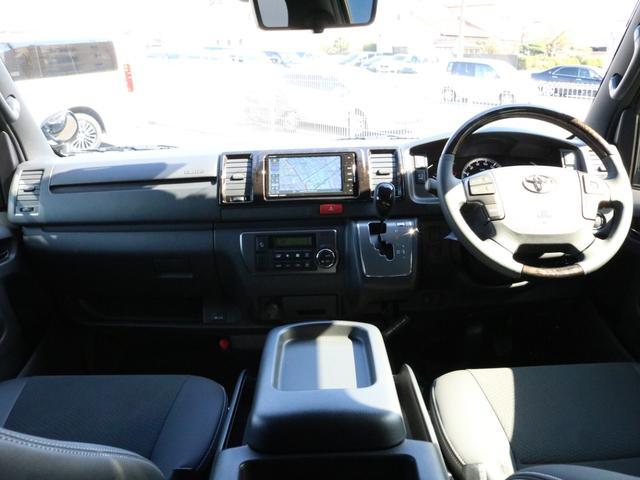 スーパーGL ダークプライムII 未登録新車6型ハイエースバン2WD スーパーGLダークプライム2特別仕様車 カスタムパッケージ ブラック黒 レジャーキャンプアウトドア車中泊ベッドキット 積載 SDフルセグナビ パノラミックビュー(58枚目)