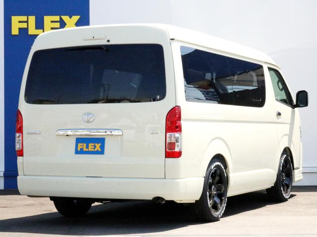 ハイエースをお探しならFLEX神戸店へ! 神戸店展示車両は勿論、全国のFLEXが保有するハイエースの中から貴方にぴったりの一台をお探しします!