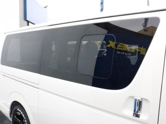 スーパーGL ダークプライムII カスタムPKG アーバングランデアルミ ホワイトレター ローダウン SDフルセグナビ ETC パノラミックビュー クリアランスソナー デジタルインナーミラー ベッドキット車中泊キャンプフルフラット(7枚目)