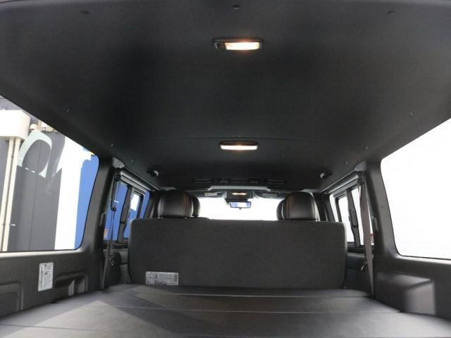 スーパーGL ダークプライムII カスタムPKG アーバングランデアルミ ホワイトレター ローダウン SDフルセグナビ ETC パノラミックビュー クリアランスソナー デジタルインナーミラー ベッドキット車中泊キャンプフルフラット(14枚目)