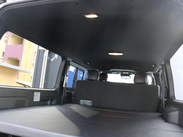 スーパーGL ダークプライムII カスタムPKG アーバングランデアルミ ホワイトレター ローダウン SDフルセグナビ ETC パノラミックビュー クリアランスソナー デジタルインナーミラー ベッドキット車中泊キャンプフルフラット(64枚目)