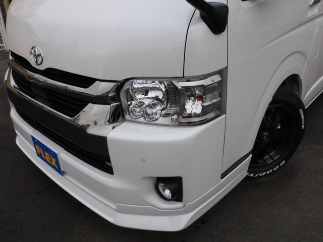 スーパーGL ダークプライムIIワイド ロングボディ FLEXカスタムPKG 両側パワースライドドア フロントリップスポイラー Delf03 17インチホイール ホワイトレタータイヤ ローダウン ベッドキットフラットタイプ車中泊対応 SDフルセグ ETC(48枚目)
