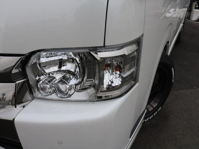 スーパーGL ダークプライムIIワイド ロングボディ FLEXカスタムPKG 両側パワースライドドア フロントリップスポイラー Delf03 17インチホイール ホワイトレタータイヤ ローダウン ベッドキットフラットタイプ車中泊対応 SDフルセグ ETC(49枚目)