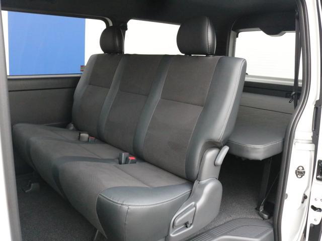 スーパーGL ダークプライムIIワイド ロングボディ FLEXカスタムPKG 両側パワースライドドア フロントリップスポイラー Delf03 17インチホイール ホワイトレタータイヤ ローダウン ベッドキットフラットタイプ車中泊対応 SDフルセグ ETC(54枚目)