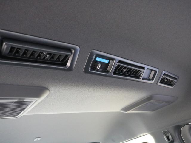 スーパーGL ダークプライムIIワイド ロングボディ FLEXカスタムPKG 両側パワースライドドア フロントリップスポイラー Delf03 17インチホイール ホワイトレタータイヤ ローダウン ベッドキットフラットタイプ車中泊対応 SDフルセグ ETC(59枚目)