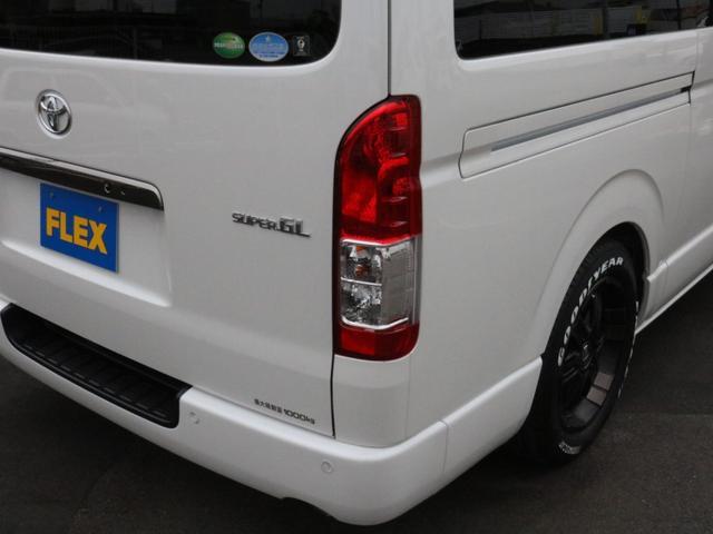 スーパーGL ダークプライムIIワイド ロングボディ FLEXカスタムPKG 両側パワースライドドア フロントリップスポイラー Delf03 17インチホイール ホワイトレタータイヤ ローダウン ベッドキットフラットタイプ車中泊対応 SDフルセグ ETC(63枚目)