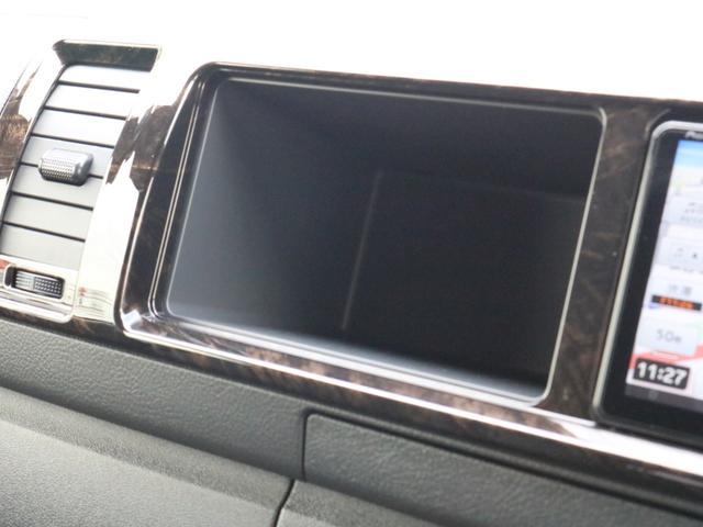 スーパーGL ダークプライムIIワイド ロングボディ FLEXカスタムPKG 両側パワースライドドア フロントリップスポイラー Delf03 17インチホイール ホワイトレタータイヤ ローダウン ベッドキットフラットタイプ車中泊対応 SDフルセグ ETC(76枚目)