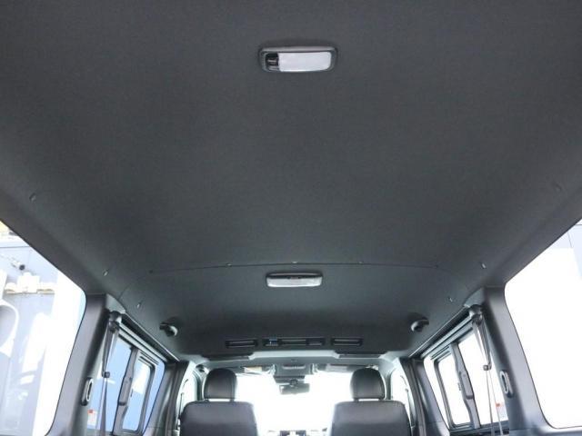 スーパーGL ダークプライムII 未登録新車ハイエースバンカスタム ダークプライムII特別仕様車 床張りフローリング施工 6型新メーカーオプション完備 フレックスエアロ アルティメットLEDテールランプ DELF04アルミ ベース車両(14枚目)