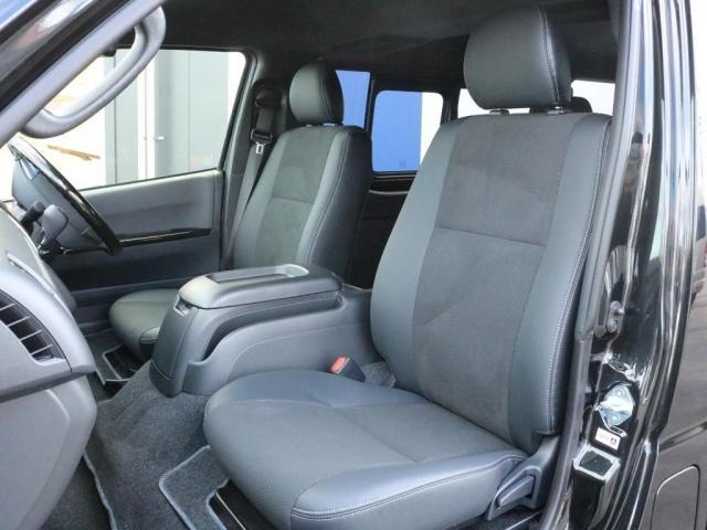 スーパーGL ダークプライムII 未登録新車ハイエースバンカスタム ダークプライムII特別仕様車 床張りフローリング施工 6型新メーカーオプション完備 フレックスエアロ アルティメットLEDテールランプ DELF04アルミ ベース車両(16枚目)