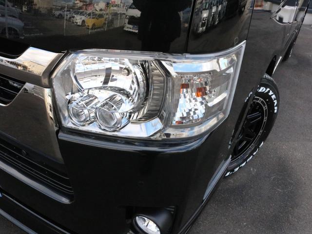 スーパーGL ダークプライムII 未登録新車ハイエースバンカスタム ダークプライムII特別仕様車 床張りフローリング施工 6型新メーカーオプション完備 フレックスエアロ アルティメットLEDテールランプ DELF04アルミ ベース車両(49枚目)