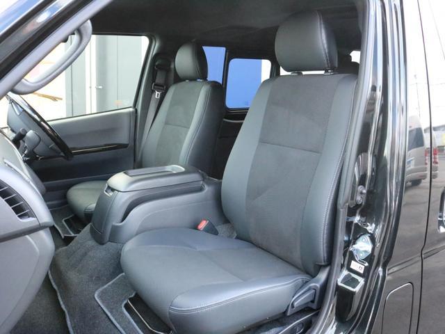 スーパーGL ダークプライムII 未登録新車ハイエースバンカスタム ダークプライムII特別仕様車 床張りフローリング施工 6型新メーカーオプション完備 フレックスエアロ アルティメットLEDテールランプ DELF04アルミ ベース車両(54枚目)