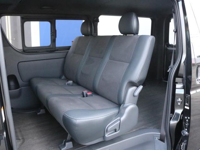 スーパーGL ダークプライムII 未登録新車ハイエースバンカスタム ダークプライムII特別仕様車 床張りフローリング施工 6型新メーカーオプション完備 フレックスエアロ アルティメットLEDテールランプ DELF04アルミ ベース車両(56枚目)