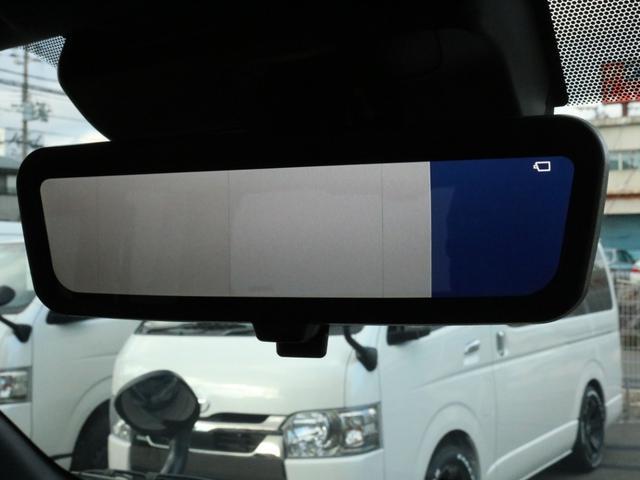 スーパーGL ダークプライムII 未登録新車ハイエースバンカスタム ダークプライムII特別仕様車 床張りフローリング施工 6型新メーカーオプション完備 フレックスエアロ アルティメットLEDテールランプ DELF04アルミ ベース車両(80枚目)