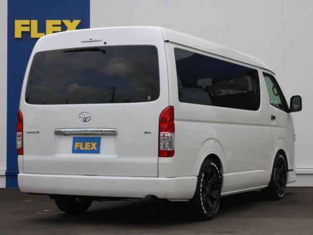 GL ロング FLEXシートアレンジVer1.5デニムカスタム フルフラットベッドキット車中泊対応 テーブルモード 3列目シート跳ね上げ収納可能 床張りフローリング施工 デニム&ウッド調 全席デニムシートカバー(50枚目)