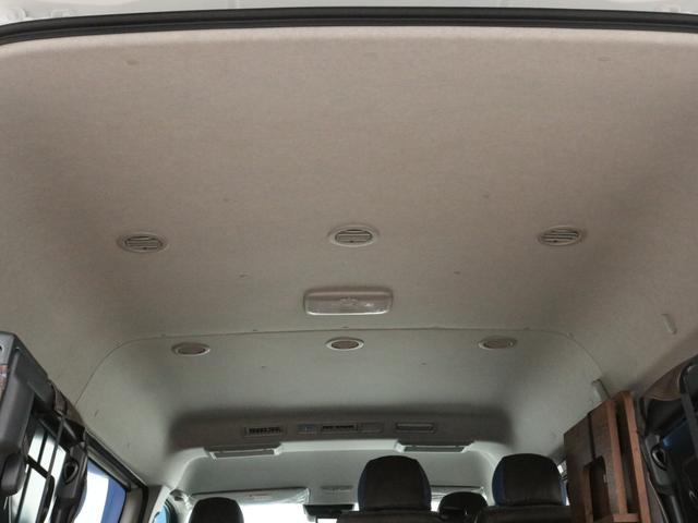 GL ロング FLEXシートアレンジVer1.5デニムカスタム フルフラットベッドキット車中泊対応 テーブルモード 3列目シート跳ね上げ収納可能 床張りフローリング施工 デニム&ウッド調 全席デニムシートカバー(57枚目)