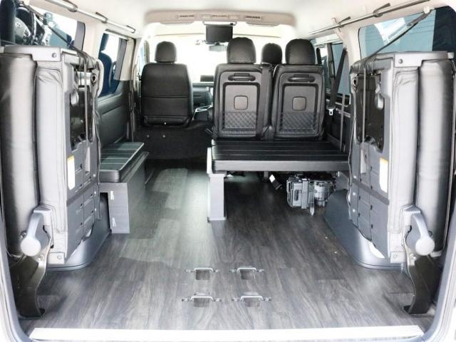 GL 特設イエロー FLEXシートアレンジVer1カスタム 車中泊対応 テーブル設置可能 クルーズコントロール DEANクロスカントリー16インチ H20ホワイトレタータイヤ クロスライドサイドバー USB(9枚目)