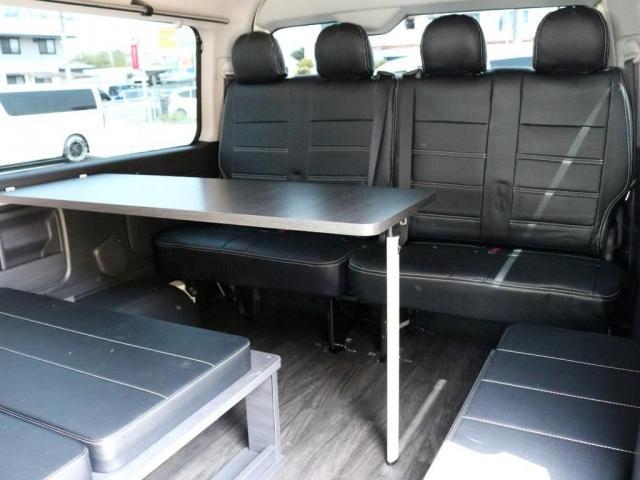 GL 特設イエロー FLEXシートアレンジVer1カスタム 車中泊対応 テーブル設置可能 クルーズコントロール DEANクロスカントリー16インチ H20ホワイトレタータイヤ クロスライドサイドバー USB(13枚目)