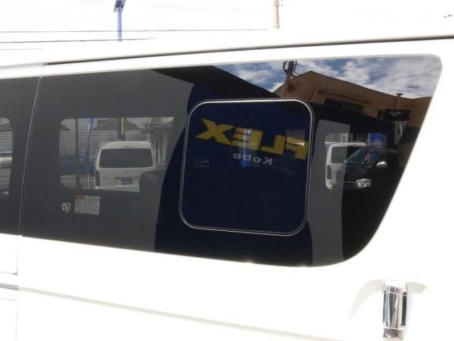 スーパーGL ダークプライムII ロングボディ オフロードバンパーガード ロックケリーAW&TOYOオープンカントリーブロックタイヤ ストラーダSDフルセグナビ ETC デジタルインナーミラー クリアランスソナー PMV 4WD寒冷地仕様 カスタム(6枚目)
