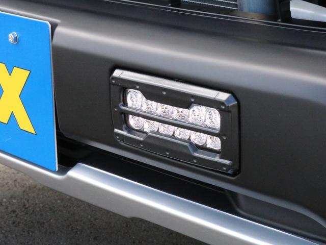スーパーGL ダークプライムII ロングボディ オフロードバンパーガード ロックケリーAW&TOYOオープンカントリーブロックタイヤ ストラーダSDフルセグナビ ETC デジタルインナーミラー クリアランスソナー PMV 4WD寒冷地仕様 カスタム(23枚目)