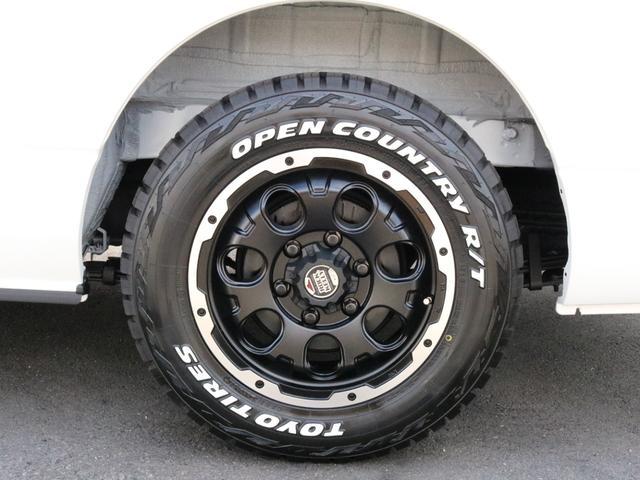 スーパーGL ダークプライムII ロングボディ オフロードバンパーガード ロックケリーAW&TOYOオープンカントリーブロックタイヤ ストラーダSDフルセグナビ ETC デジタルインナーミラー クリアランスソナー PMV 4WD寒冷地仕様 カスタム(27枚目)