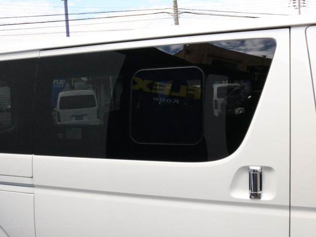 スーパーGL ダークプライムII ロングボディ オフロードバンパーガード ロックケリーAW&TOYOオープンカントリーブロックタイヤ ストラーダSDフルセグナビ ETC デジタルインナーミラー クリアランスソナー PMV 4WD寒冷地仕様 カスタム(28枚目)