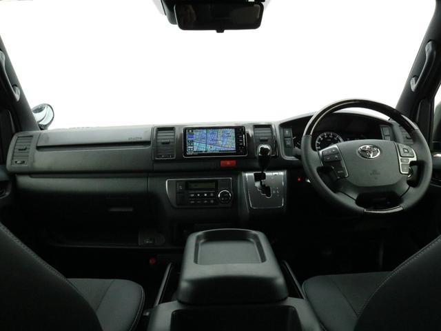 スーパーGL ダークプライムII ロングボディ オフロードバンパーガード ロックケリーAW&TOYOオープンカントリーブロックタイヤ ストラーダSDフルセグナビ ETC デジタルインナーミラー クリアランスソナー PMV 4WD寒冷地仕様 カスタム(47枚目)