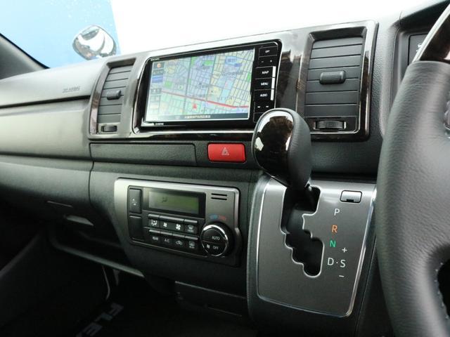 スーパーGL ダークプライムII ロングボディ オフロードバンパーガード ロックケリーAW&TOYOオープンカントリーブロックタイヤ ストラーダSDフルセグナビ ETC デジタルインナーミラー クリアランスソナー PMV 4WD寒冷地仕様 カスタム(48枚目)