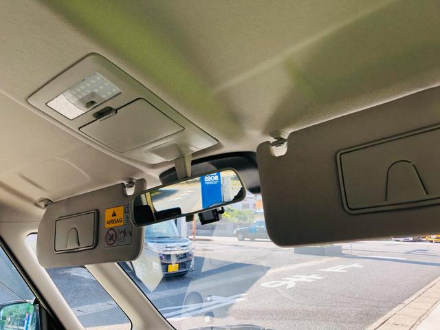 Fリミテッド 社外ナビ・フルセグテレビ・LEDライト・オートライト・両側パワースライドドア・キーレス・プッシュスタート・デュアルカメラブレーキサポート・アイドリングストップ・プライバシーガラス・革巻きステアリング(42枚目)