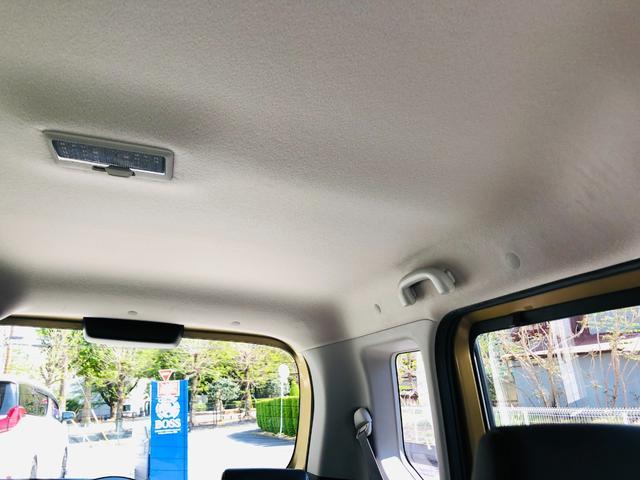 Fリミテッド 社外ナビ・フルセグテレビ・LEDライト・オートライト・両側パワースライドドア・キーレス・プッシュスタート・デュアルカメラブレーキサポート・アイドリングストップ・プライバシーガラス・革巻きステアリング(44枚目)