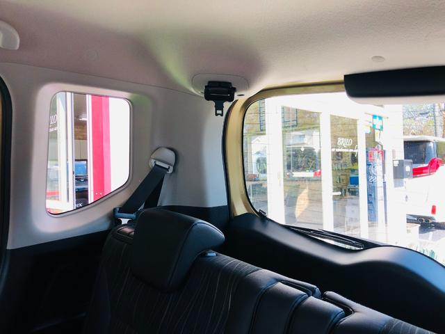 Fリミテッド 社外ナビ・フルセグテレビ・LEDライト・オートライト・両側パワースライドドア・キーレス・プッシュスタート・デュアルカメラブレーキサポート・アイドリングストップ・プライバシーガラス・革巻きステアリング(45枚目)