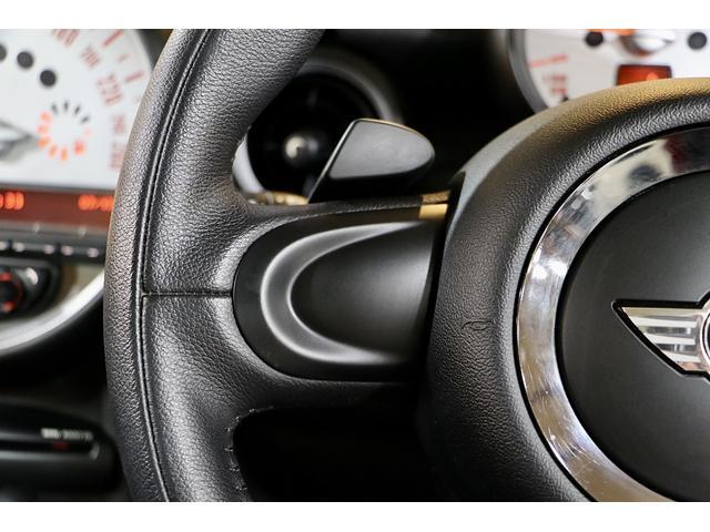 クーパーS 1.1万km ナビ 地デジ ブラックリフレクターHIDライト 点検整備記録簿 ETC パドルシフト 16インチアロイホイール スポーツストライプ(外し可能) S専用スポーツシート(43枚目)