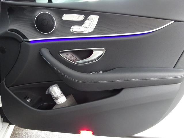 E200 ステーションワゴン スポーツ 元デモカー 認定中古車2年保証(18枚目)