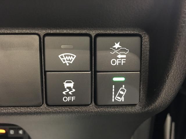 【ホンダセンシング】精度の高い検知能力で、車輌進行方向の状況を認識。ドライバーの意思と車両の状態を踏まえた適切な運転操作を判断し、多彩な機能で、より快適で安心なドライブをサポートします♪