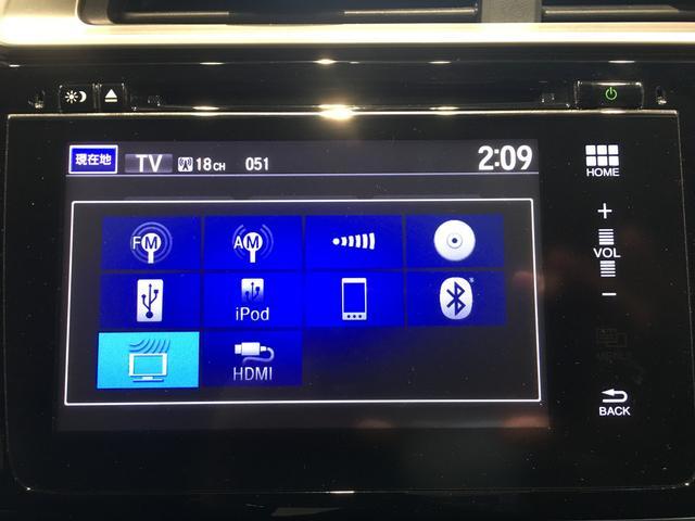 【ナビ】ホンダ純正インターナビ/フルセグTV/Bluetooth/バックモニター