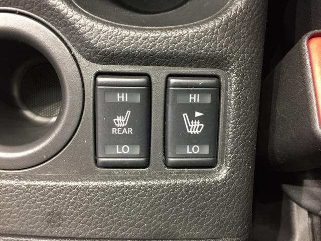 【シートヒーター】全席シートヒーター機能付き。前席だけでなく後ろの方も冬場快適なドライブが可能。
