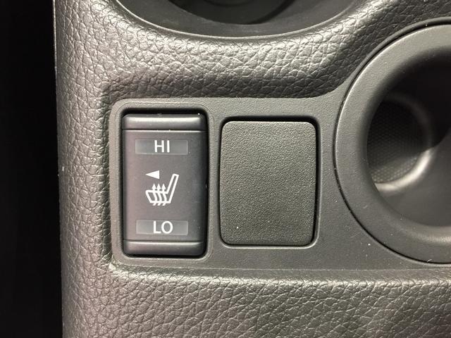 【シートヒーター】冬場冷たくなりがちなカプロンシートだがシートヒーター機能付きで腰元から体を温めてくれます。