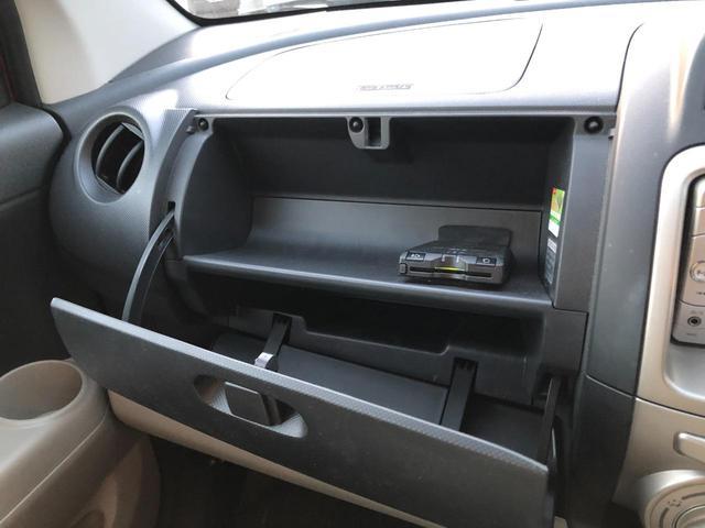 ETCは助手席側グローブボックスの中に搭載。