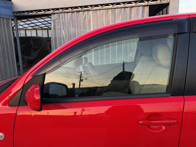 助手席側透明窓ガラス外観