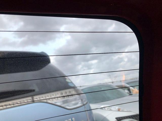 リアウインドウの曇りは熱線で即解消