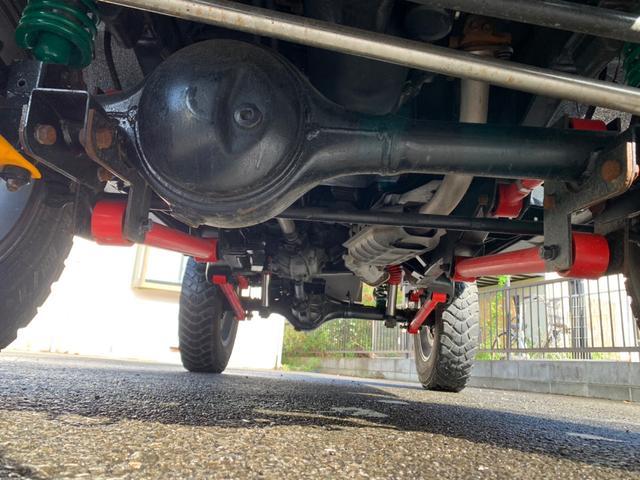 ランドベンチャー 全車室内除菌済み 3インチリフトアップ F&R5リンクアームキット F&R社外バンパー(28枚目)
