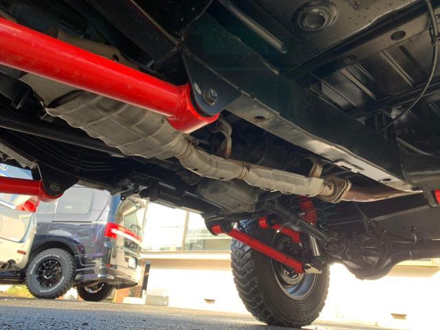 ランドベンチャー 全車室内除菌済み 3インチリフトアップ F&R5リンクアームキット F&R社外バンパー(30枚目)