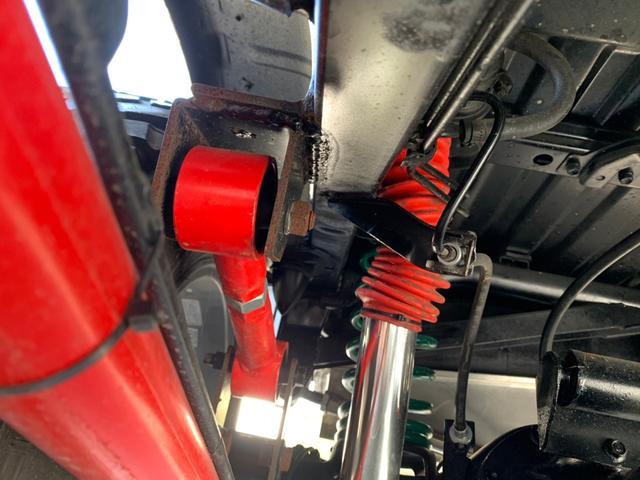 ランドベンチャー 全車室内除菌済み 3インチリフトアップ F&R5リンクアームキット F&R社外バンパー(38枚目)