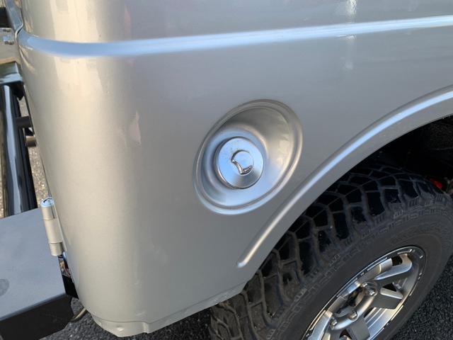 ランドベンチャー 全車室内除菌済み 3インチリフトアップ F&R5リンクアームキット F&R社外バンパー(42枚目)