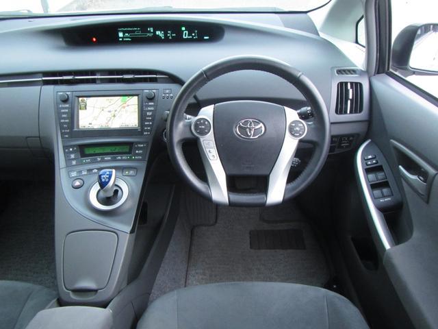 平成21年式 トヨタ プリウス GHDDナビ DVD再生 CD/MD バックカメラ ビルトインETC スマートキー オートライト クルーズコントロール 電動格納ウィンカーミラー アルミホイール ABS