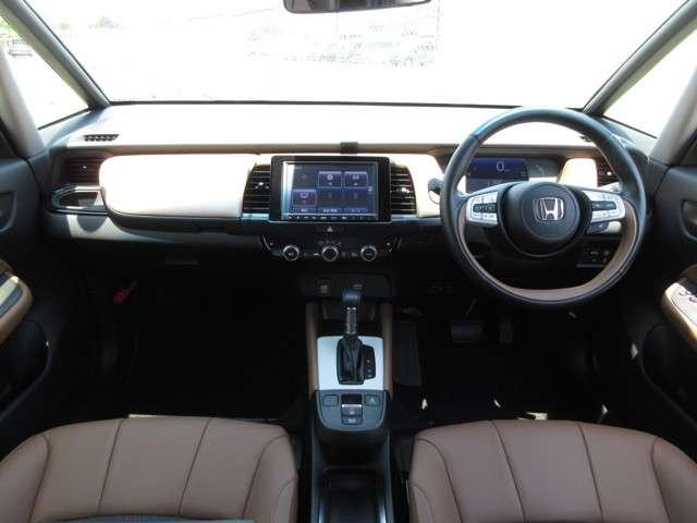 e:HEVリュクス 2年保証付 デモカー 衝突被害軽減ブレーキ サイド&カーテンエアバッグ ドライブレコーダー メモリーナビ フルセグTV バックカメラ シートヒーター 純正アルミホイール LEDヘッドライト(7枚目)
