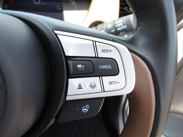 e:HEVリュクス 2年保証付 デモカー 衝突被害軽減ブレーキ サイド&カーテンエアバッグ ドライブレコーダー メモリーナビ フルセグTV バックカメラ シートヒーター 純正アルミホイール LEDヘッドライト(11枚目)