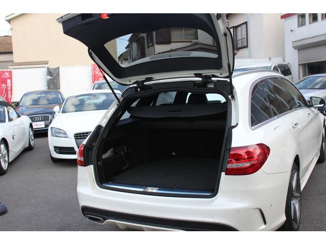 C200 ステーションワゴン スポーツ本革仕様 AMGアルミホイール・キーレスゴー・ヘッドアップディスプレイ・パワーバックドア・ナビ&TV・ETC・レザーシート・シートヒーター(9枚目)
