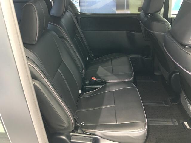 ハイブリッドG ワンオーナー 純正10型ナビ トヨタセーフティセンス 両側パワースライドドア クルーズコントロール ドライブレコーダー シートヒーター バックカメラ ビルトインETC 革調シートカバー スマートキー(21枚目)